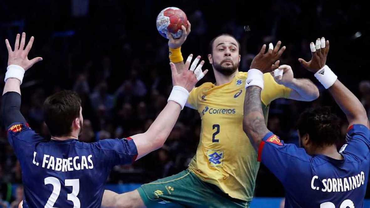 Balonmano - Mundial Masculino: Francia - Brasil - ver ahora