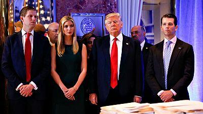 Los hijos mayores de Doinald Trump tomarán las riendas de su conglomerado empresarial