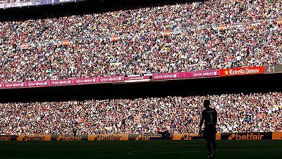 El Espanyol se queja por una campaña de la Generalitat muy culé