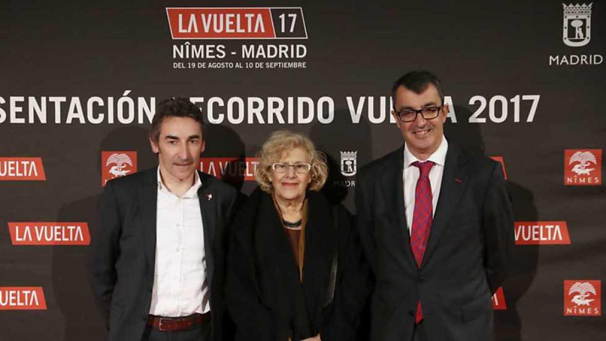 """Presentación """"Vuelta Ciclista a España 2017"""" - ver ahora"""