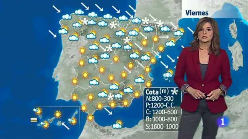 El tiempo en Andalucía - 13/01/17