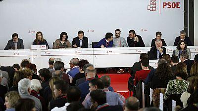 El Comité Federal del PSOE aprueba celebrar el Congreso los días 17 y 18 de junio