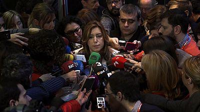 """Susana Díaz pide un partido """"sin complejos"""" pero no aclara si concurrirá a las primarias"""