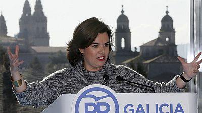 """Sáenz de Santamaría: """"Somos un partido unido que sabe avanzar en el diálogo territorial"""""""