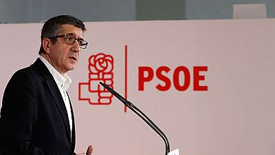 """Patxi López : """"Me siento con fuerzas para reconstruir el PSOE"""""""