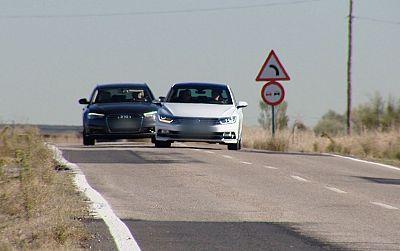 'Laboratorio' - Adelantamiento en carretera convencional