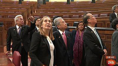 Parlamento - Conoce el parlamento - Visita delegación japonesa - 14/01/2017