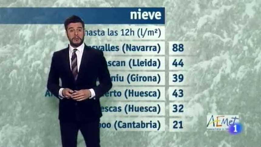 El tiempo en Extremadura - 16/01/17