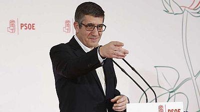Patxi López es el primer candidato en la carrera por liderar el PSOE
