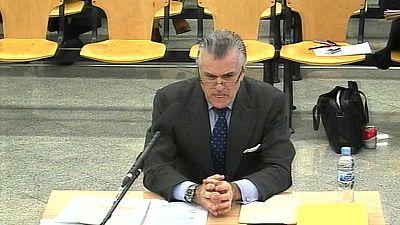 Luis Bárcenas declara como acusado en el juicio de la trama Gürtel