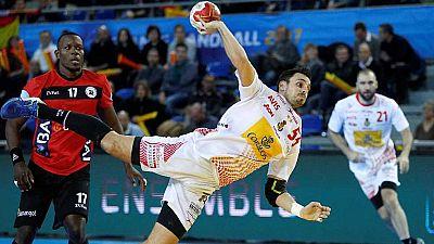 Balonmano - Campeonato del Mundo Masculino: España - Angola - ver ahora