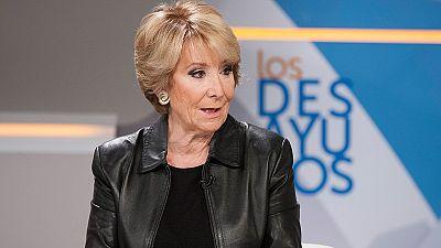 """Esperanza Aguirre defiende las primarias abiertas a dos vueltas como el """"mejor sistema"""""""
