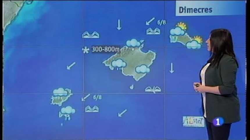 El temps a les Illes Balears - 17/01/17
