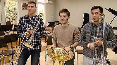 200 jóvenes con discapacidad intelectual participan en un proyecto musical en favor de la integración