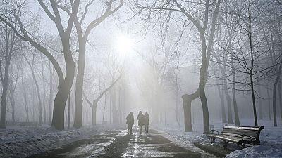 Descenso notable de las temperaturas, heladas y nieve