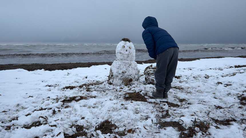 Alertas por nieve en el sudeste de la Península