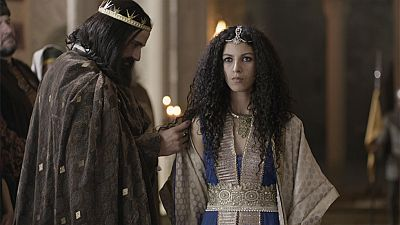 El final del camino - Alfonso VI acoge a la hija de Al-Mutamid