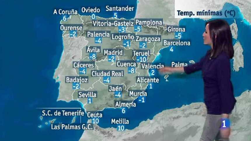 El tiempo en la Comunidad Valenciana - 18/01/17