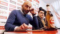 """Abelardo Fernández ha explicado este miércoles que deja de entrenar al Sporting de Gijón porque veía que """"el equipo no transmitía"""" lo que él quería en el campo, por lo que ha preferido priorizar los intereses del club asturiano, en lucha por la perma"""