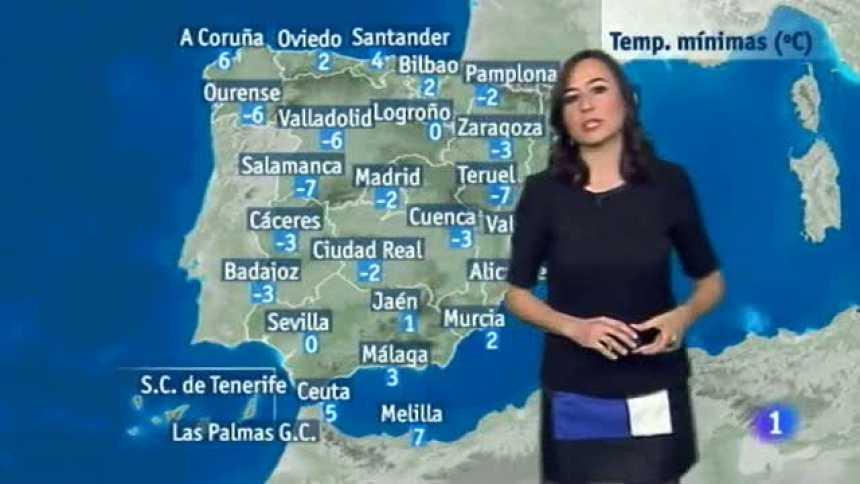 El tiempo en Extremadura - 19/01/17