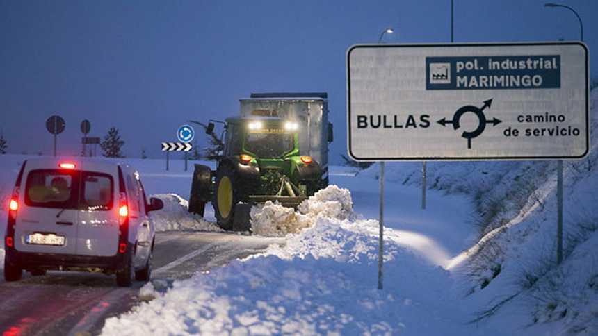 Las nevadas y fuertes precipitaciones continuarán en la comunidad  Valenciana y Baleares