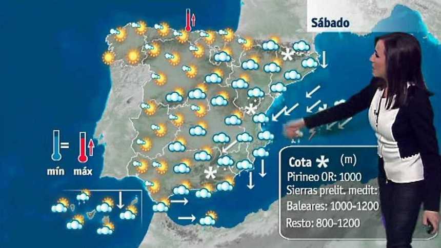 El tiempo en la Comunidad Valenciana - 20/01/17