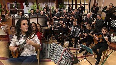 Tenderete - 22/01/2017 con la parranda Los Cacheros y la timplista Alba Chávez