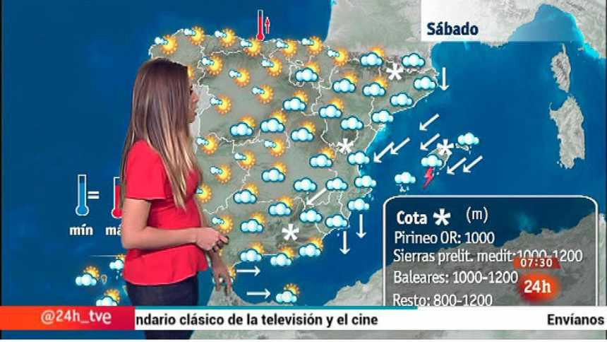Subirá la cota de nieve y lloverá con intensidad en el este y Baleares
