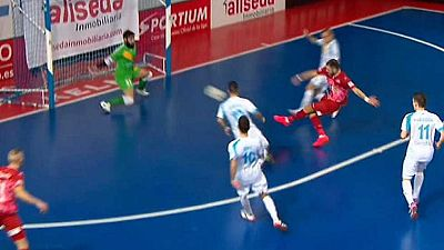 Fútbol Sala - Liga Nacional 17ª jornada: Catgas Energia-El Pozo Murcia - ver ahora