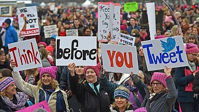 """Multitudinaria """"Marcha de las Mujeres"""" en Washington contra Trump"""