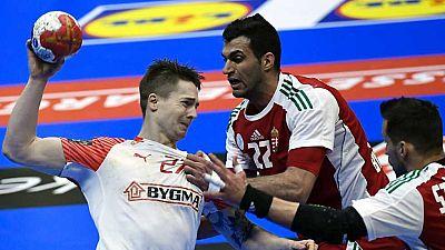 Balonmano - Campeonato del Mundo Masculino 1/8 Final:  Hungría-Dinamarca - ver ahora