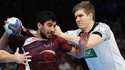 Balonmano - Campeonato del Mundo Masculino 1/8 Final: Alemania-Catar - ver ahora