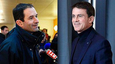 Hamon aventaja a Valls en la primera vuelta de primarias en la candidatura socialista al Elíseo