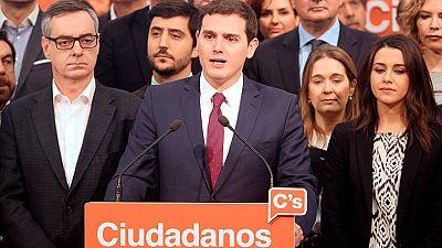 Rivera mantiene a su 'núcleo duro' en la dirección de Ciudadanos e incorpora a 14 nuevos miembros