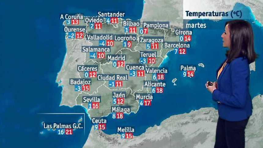El tiempo en la Comunidad Valenciana - 23/01/17