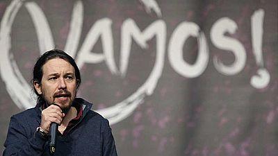 Iglesias impone los mismos límites que Errejón a la fusión de Podemos con IU: mayoría de dos tercios de inscritos