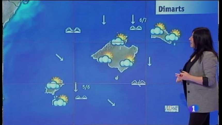 El temps a les Illes Balears - 23/01/17