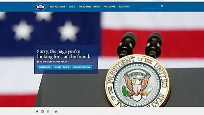 Críticas por la eliminación de la versión en español de la web de la Casa Blanca