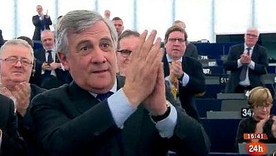 Parlamento - Conoce el parlamento - Antonio Tajani, nuevo presidente del Parlamento Europeo - 21/01/2017