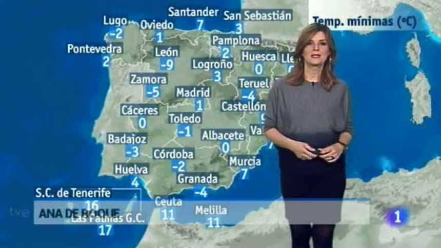 El tiempo en Extremadura - 24/01/17