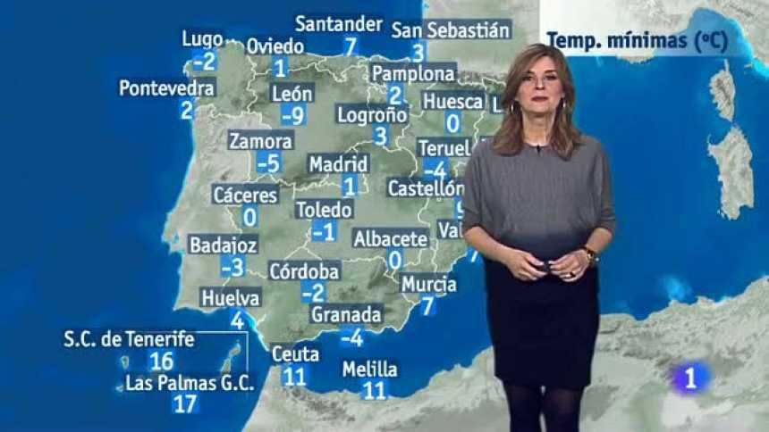El tiempo en Andalucía - 24/1/2017