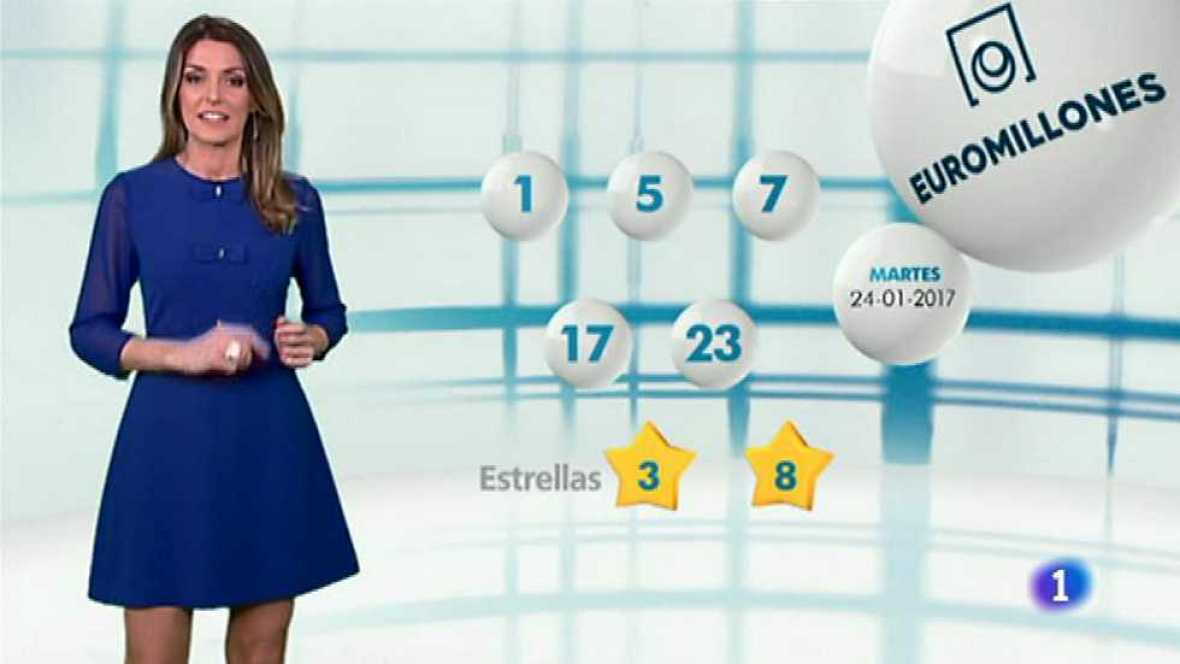 Bonoloto + EuroMillones - 24/01/17 - ver ahora