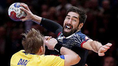 Balonmano - Campeonato del Mundo Masculino 1/4 Final: Francia - Suecia - ver ahora