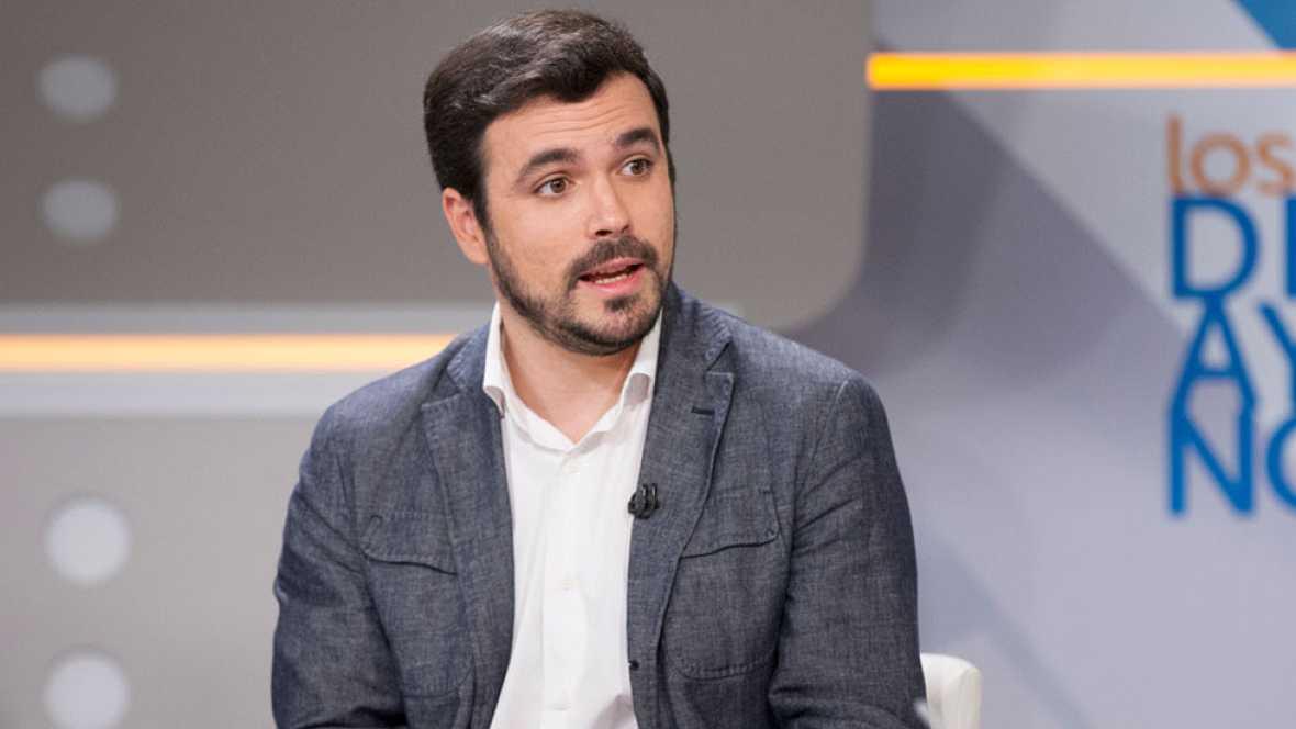 """Garzón: """"En IU no contemplamos de ninguna manera una fiusión con Podemos"""""""