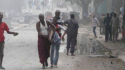 Doble atentado yihadista con coche bomba en un hotel de la capital de Somalia