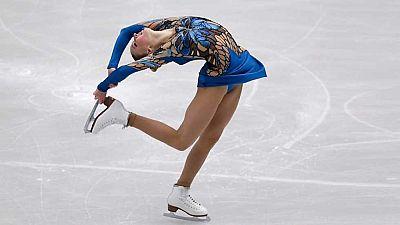 Patinaje Artístico - Campeonato de Europa. Programa Corto Femenino desde Ostrava - ver ahora