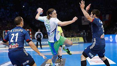 Balonmano - Campeonato del Mundo Masculino 1ª Semifinal: Francia - Eslovenia - ver ahora