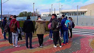 Detenido un chico de 17 años  por agresión con arma blanca,  a cinco compañeros en un instituto de Villena,  Alicante.