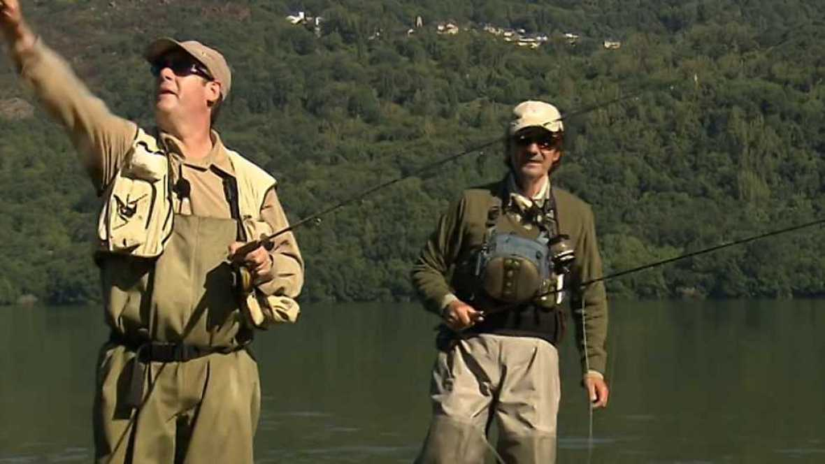 Jara y sedal - Tres amigos en el lago - ver ahora