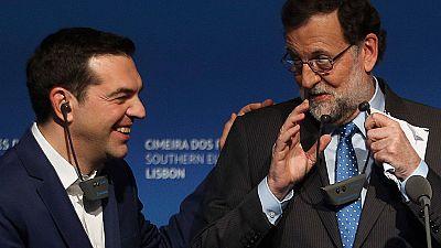 Rajoy se ha reunido con los líderes del sur de la UE en Lisboa